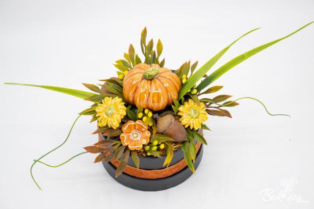 Kerámia virág: Mini Virágdoboz - Dísztök és Virágok
