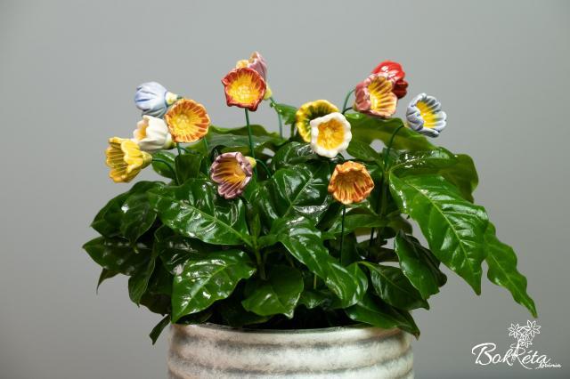 Kerámia virág: Kankalin