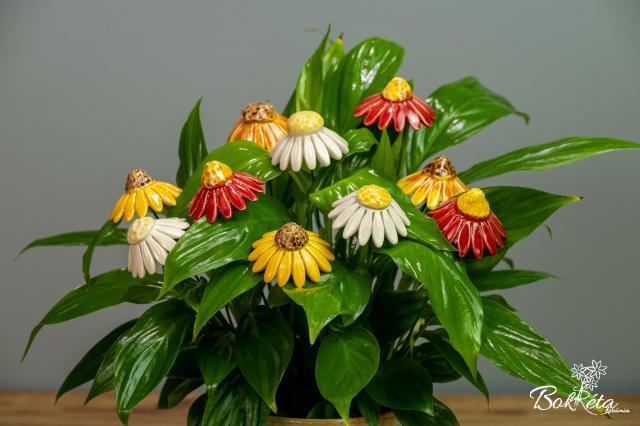 Kerámia virág: Kasvirág