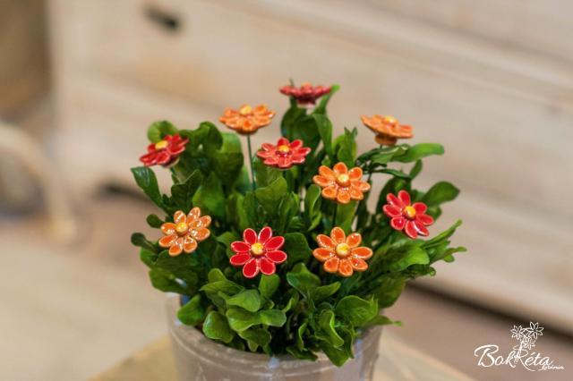Ceramic flower: Little Daisy