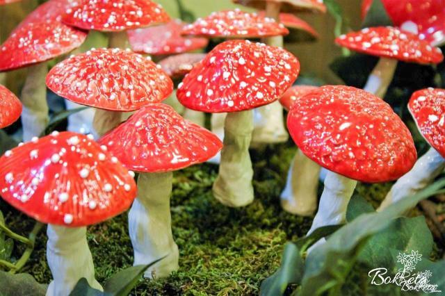 Ceramic flower: Magic Mushroom
