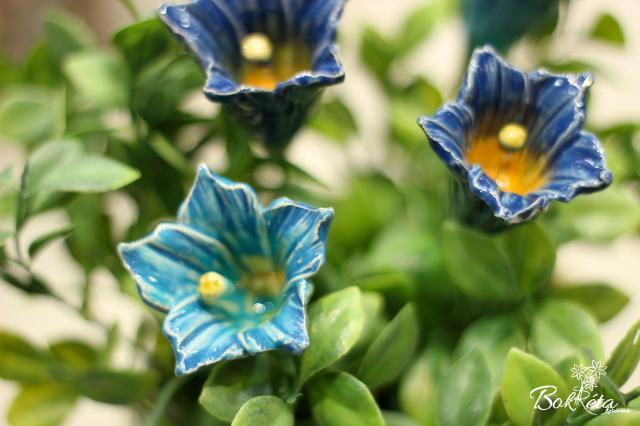 Ceramic flower: Encyan
