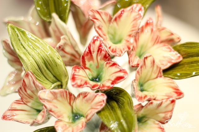 Kerámia virág: Törpe Liliom