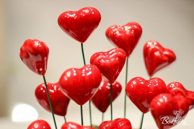 Ceramic flower: Little Heart