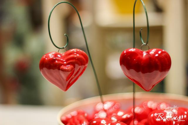 Ceramic flower: Big Heart