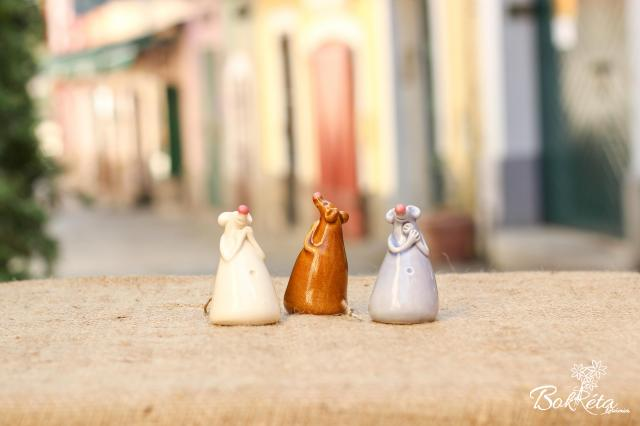 Ceramic flower: Mouse