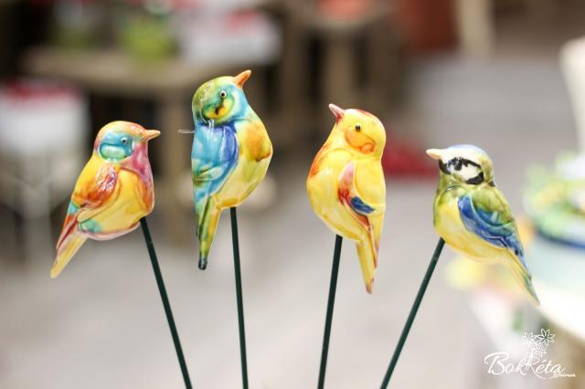 Ceramic flower: Little Bird