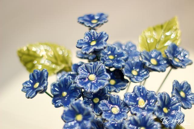 Kerámia virág: Primula