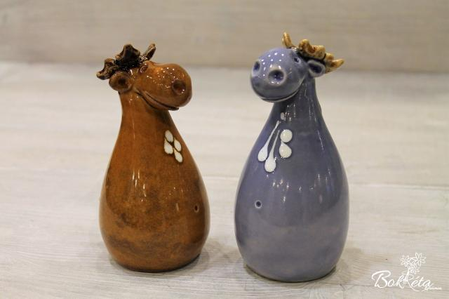 Ceramic flower: Reindeer