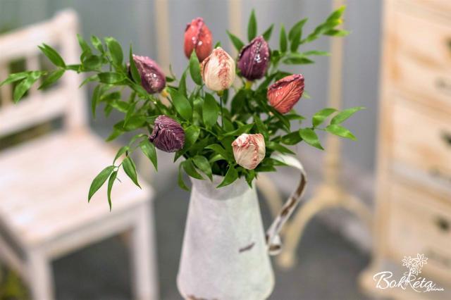 Kerámia virág: Csokortervező - TulipÁlom