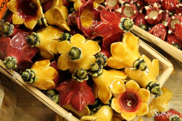 Ceramic flower: Large Bellflower Sale -40%